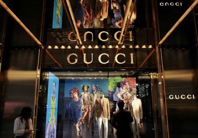Boutique Gucci à Hong Kong. © Reuters