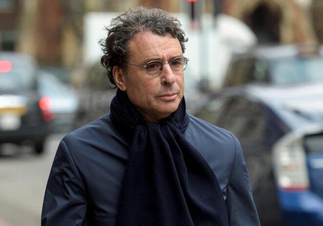 Alexandre Djouhri, à Londres, où il a été interpellé en janvier 2018. © Reuters