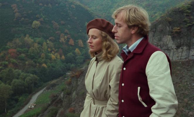 Rüdiger Vogler et Hannah Schygulla dans «Faux Mouvement » (1974).