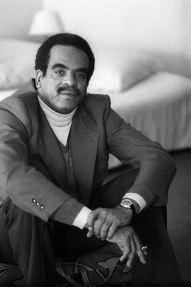 """Le""""Black PowerMastermind"""" du temps de sa Direction du Courrier de l'UNESCO de 1982 à1988."""