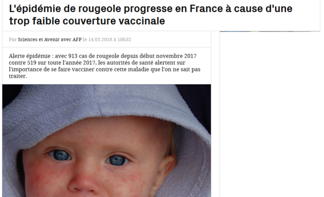 Epidémie de rougeole : merci Madame Rivasi ! | Le Club de Mediapart