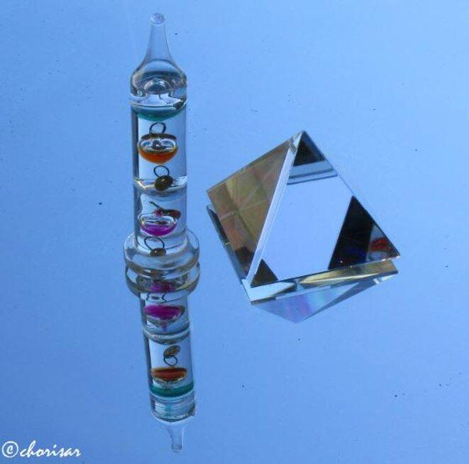 L'obélisque et la pyramide © Chorisar