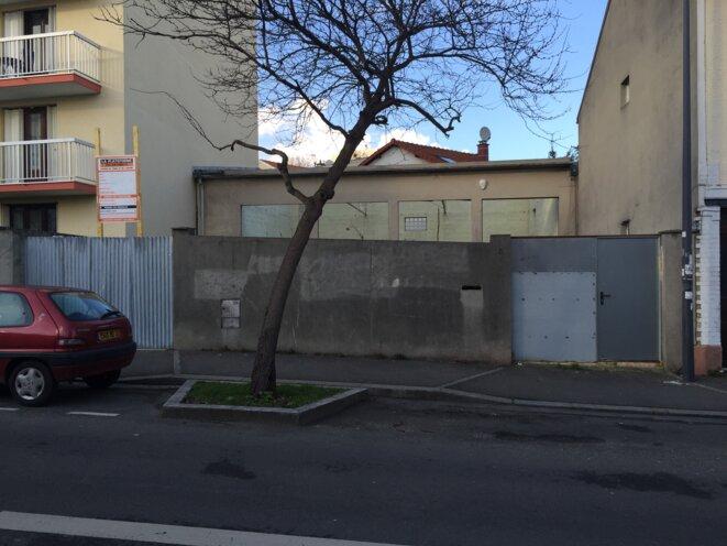 L'atelier désaffecté dans son état actuel, Montreuil 16 mars 2018 © Gilles Walusinski