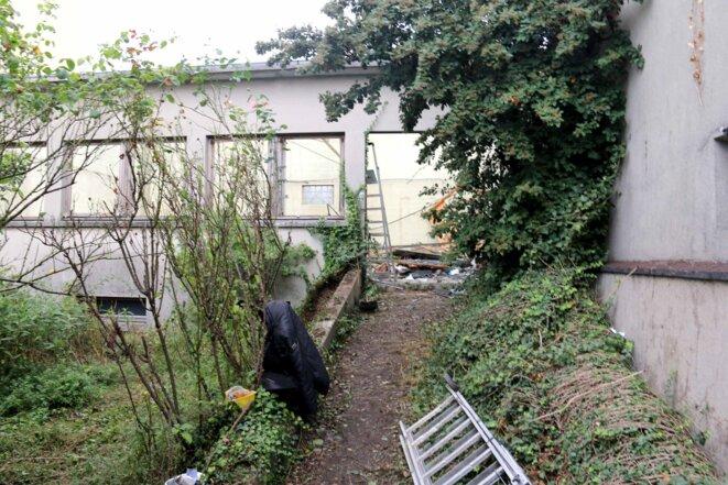 L'atelier détruit par son propriétaire après l'expulsion, Montreuil 20 septembre 2016 © DR