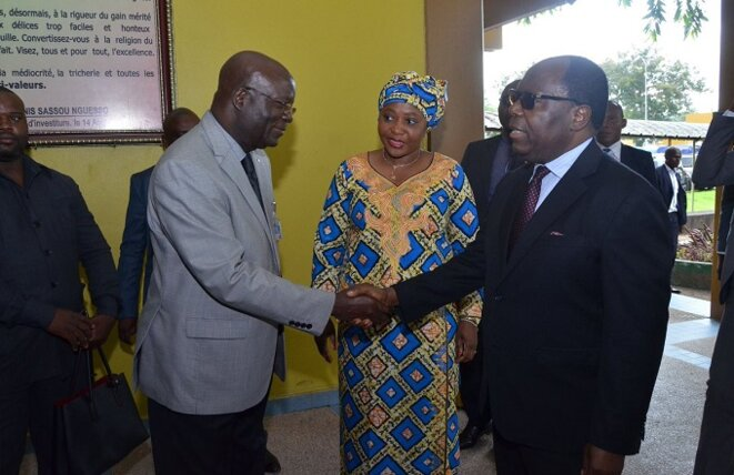 Visite du premier Ministre Mouamba au CHU de Brazzaville