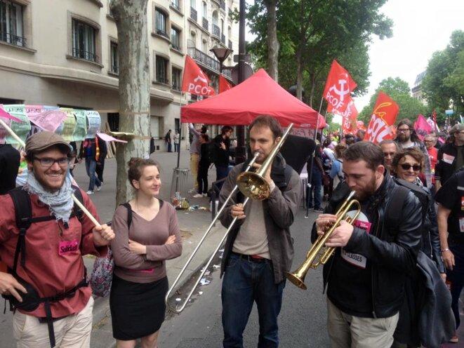 Dans la rue, pour des services publics partout et de qualité ! © F. Guerrien
