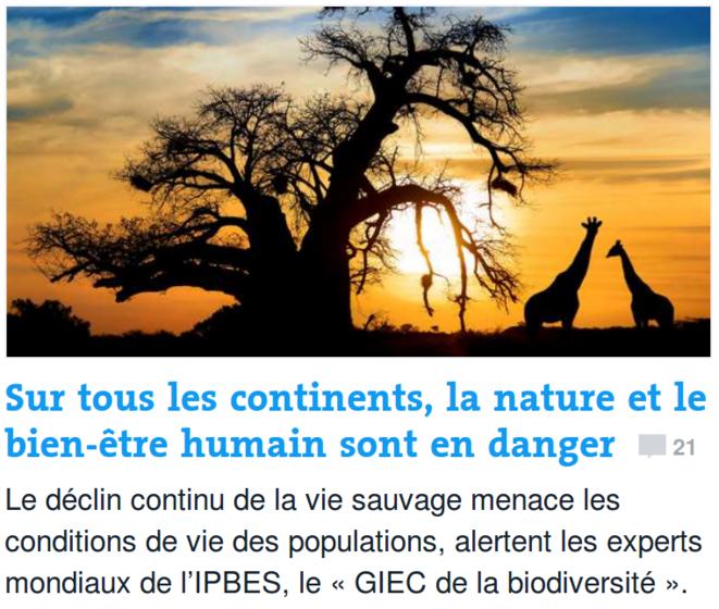 http://www.lemonde.fr/planete/article/2018/03/23/sur-tous-les-continents-la-nature-et-le-bien-etre-humain-sont-en-danger_5275433_3244.html