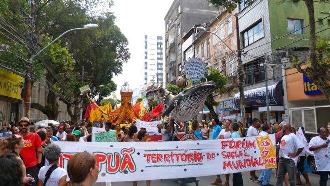 Marche d'ouverture du FSM © Benjamin Joyeux