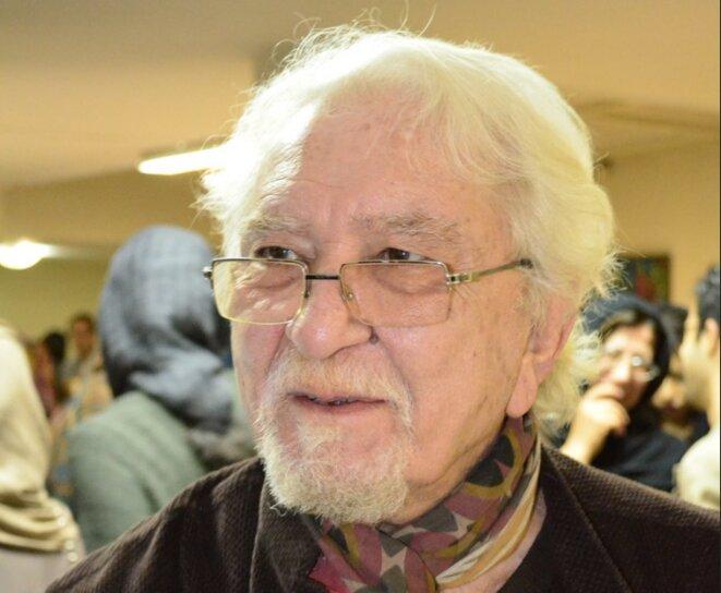 Daryush Shayegan, en 2013. © Darafsh Kaviyani
