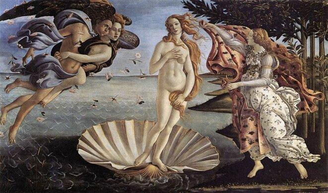 Vue mythologique d'artiste de l'origine de la femme