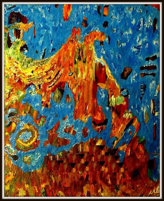 Peinture Simbou Vili © Simbou Vili