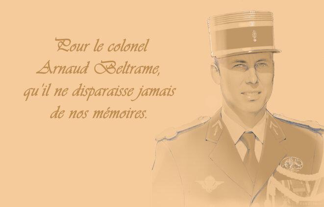 Hommage à notre héros national, le colonel Arnaud Beltrame © Patrick Singaïny