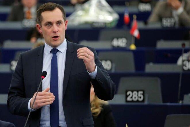 Nicolas Bay, eurodéputé et vice-président du FN © Reuters