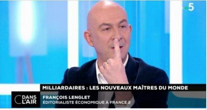 """France 5 """"C dans l'air"""" [capture d'écran YF]"""