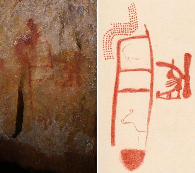 La peinture de la grotte de La Pasiega