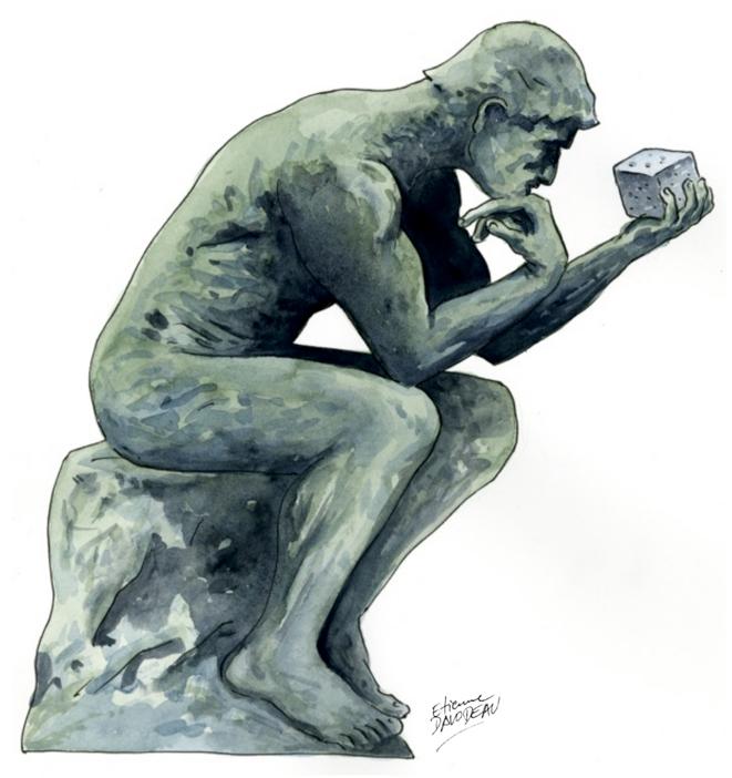 Illustration réalisée pour la couverture du n°7 des « Utopiques » © Étienne Davodeau