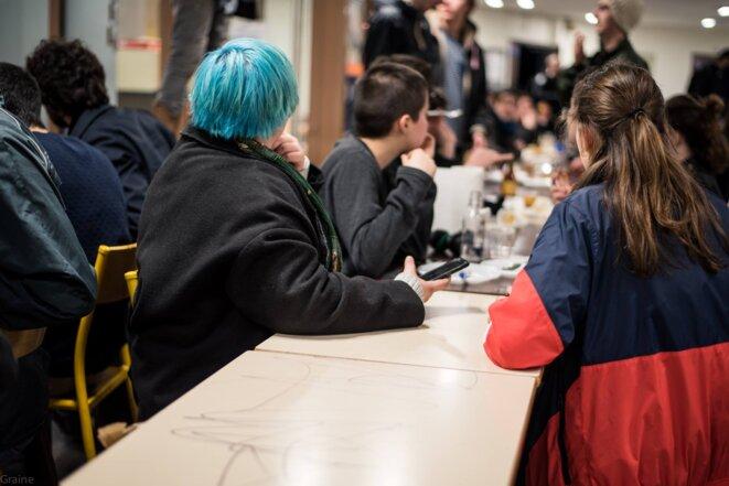 L'étonnante conférence d'étudiants de Tolbiac en grève
