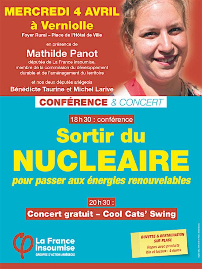 Conférence Sortie du Nucléaire © France Insoumise