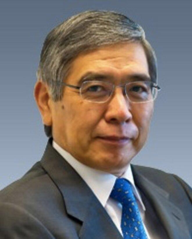 Haruhiko Kuroda : pourquoi changer une équipe qui perd ? © BoJ