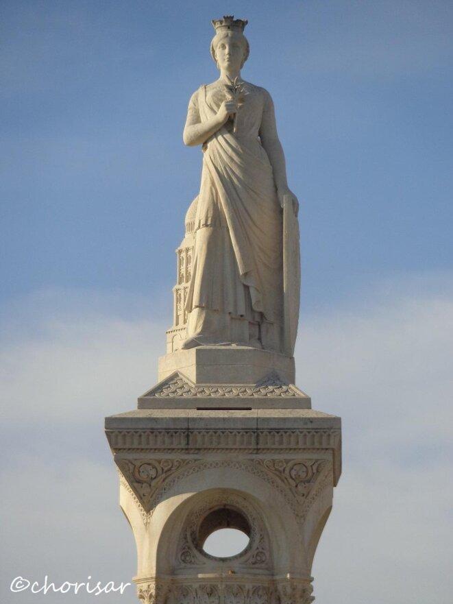 Madame Plumancy, allégorie de la ville de Périgueux © Chorisar