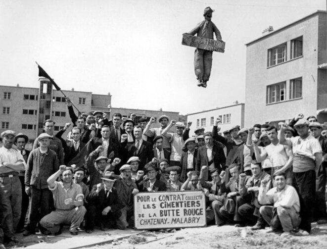 greve-cimentiers-1936