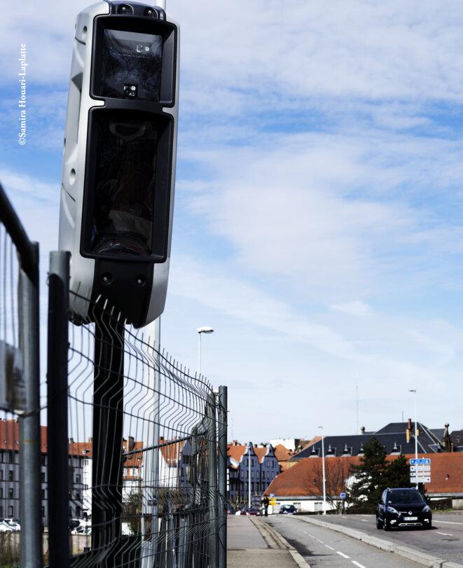 Radar situé quai Pasteur à Strasbourg © @Samira Houari-Laplatte