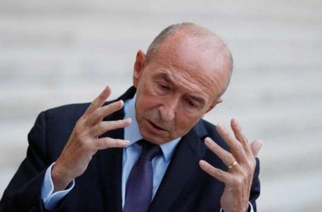 Le ministre de l'intérieur Gérard Collomb. © Reuters