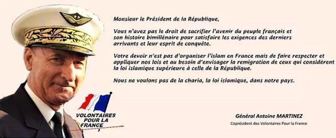 Sur le site internet des Volontaires pour la France (VPF).