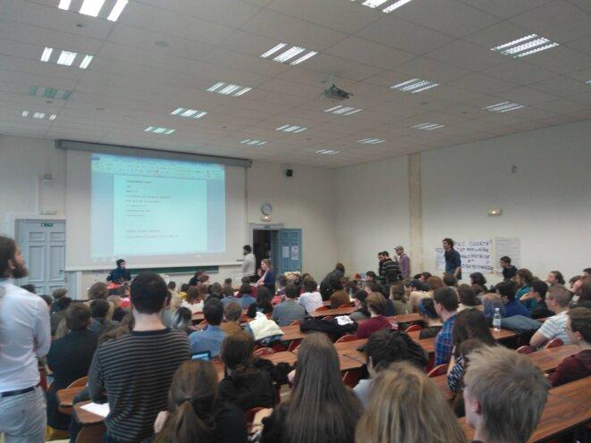 Strasbourg - AG du 4-4-2018 - Palais universitaire © Nicolas Poulin