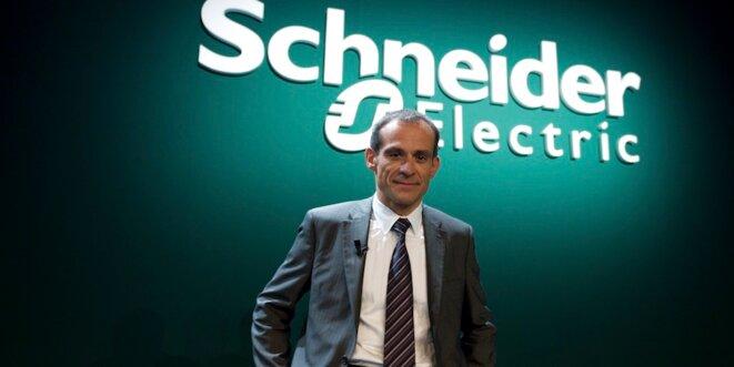 Jean-Pascal Tricoire, PDG du mastodonte Schneider, deuxième fabricant mondial de matériel électrique. © Reuters