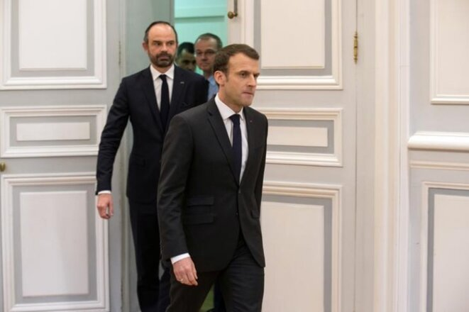 The Macron Method: union leaders says the government talks a lot but says nothing. © Reuters