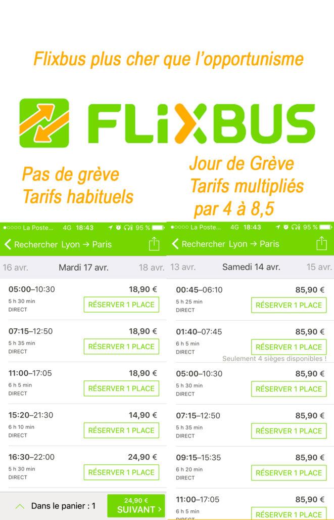 Flixbus - Tarifs, avec ou sans grève?
