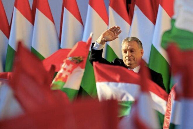 Viktor Orbán le 6 avril 2018. © Reuters © Reuters