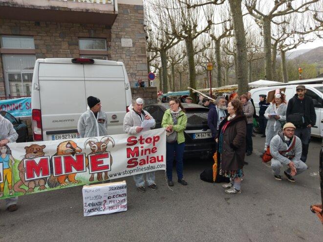 Jacques Renoud de Stop Mine Salau © Favier