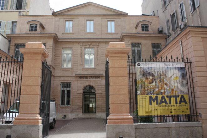 Musée Cantini, à Marseille © Marsactu