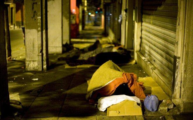Grèce 2018: La pauvreté ne recule pas...