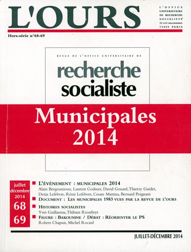 Recherche socialiste, juillet-décembre 2014, Munipales 2014