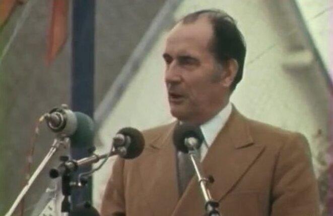 François Mitterrand in 1974.
