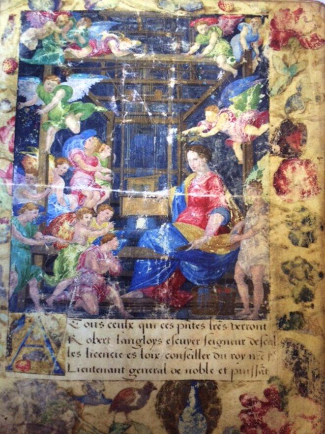 """""""Recueil des règlements et arrêts des fabricants de draps d'or et de soie"""", Rouen, XVIe siècle"""
