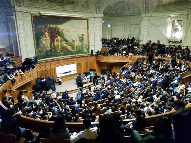 AG à la Sorbonne ce jeudi