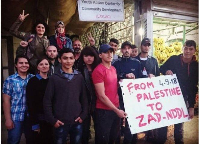 SOLIDARITÉ ZAD NOTRE DAME DES LANDES ET AVEC LA PALESTINE © E'M.C. Free Palestine
