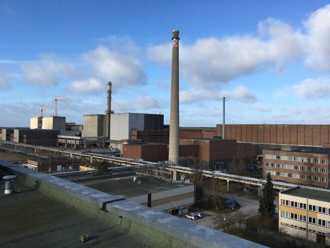 La centrale de Lubmin est la plus grande centrale en cours de démantèlement dans le monde. © DR