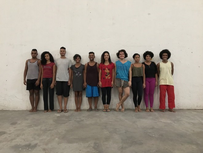 Les jeunes danseurs de Maré © Lia Rodrigues