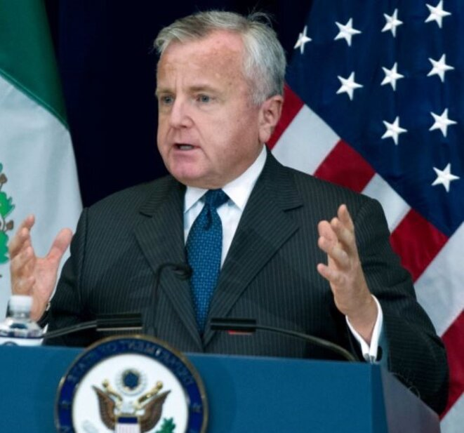 USA-Le secrétaire d'État par intérim, M. John J. Sullivan