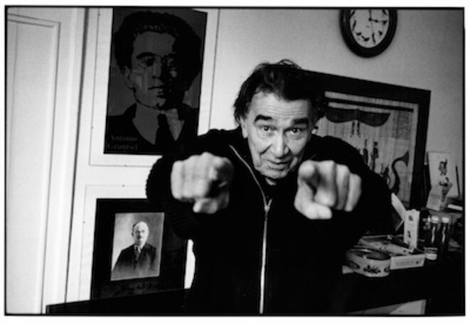 Armand Gatti. Photographie © Paolo Gasparini