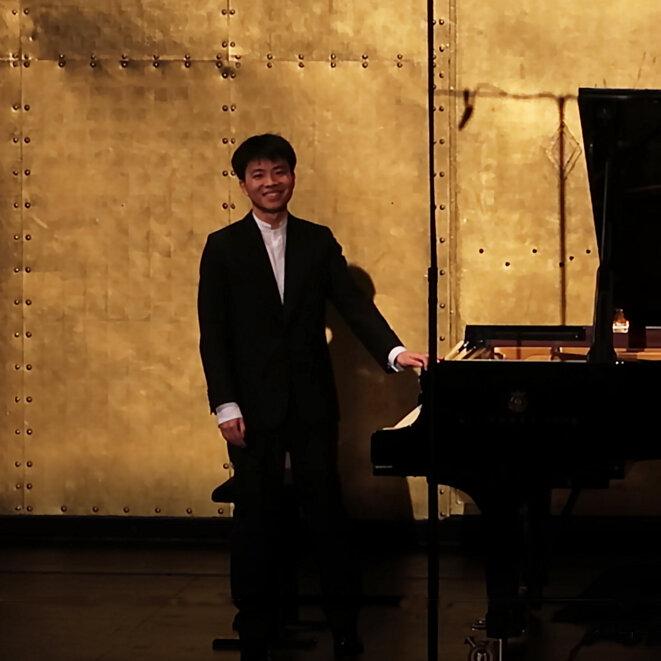 Kit Armstrong ovationné au Théâtre des Champs-Elysées.