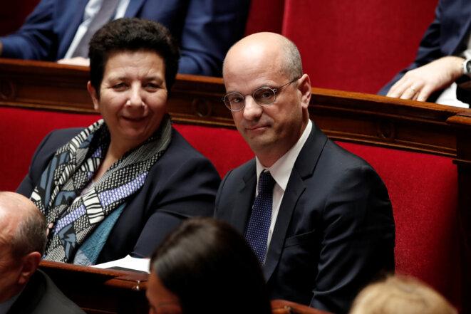 Frédérique Vidal et Jean-Michel Blanquer. © Reuters