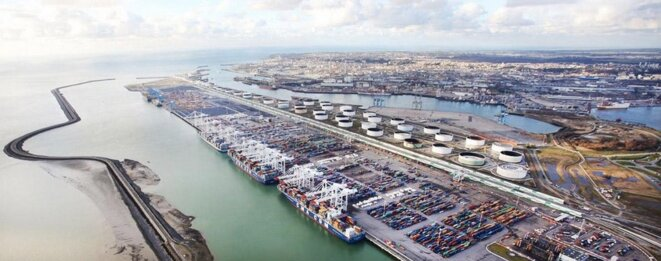 Le port du Havre. © Dr