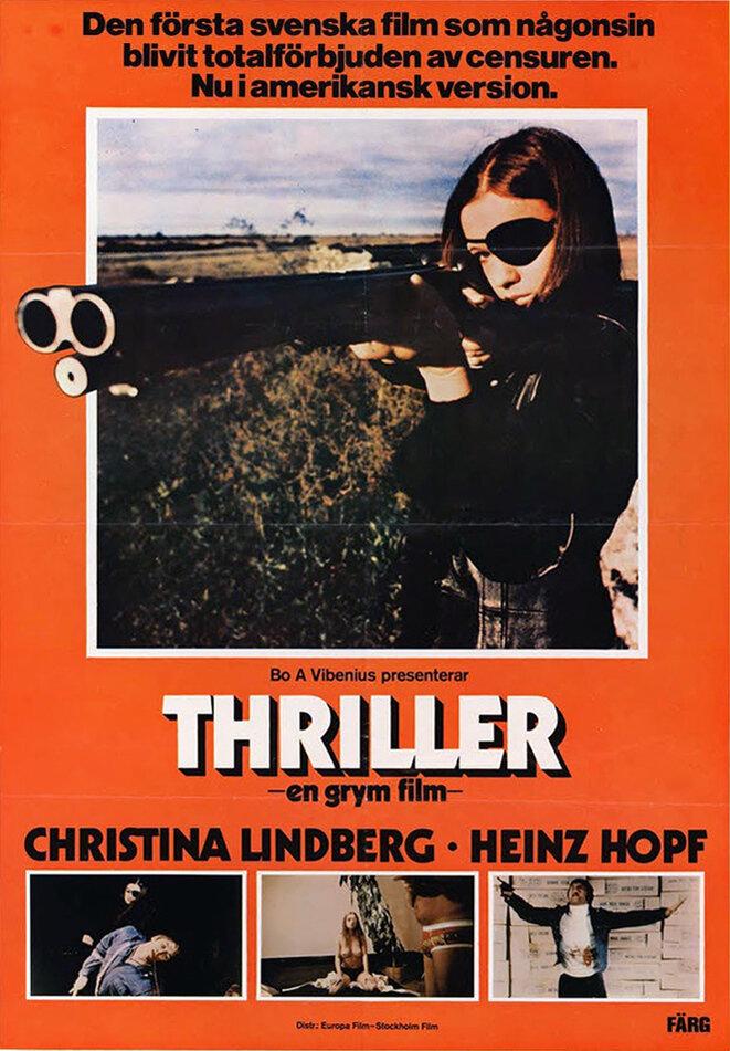 """Bo Arne Vibenius, """"Thriller"""", 1973. Tarantino se inspiró en esta película para """"Kill Bill"""" (2003-04)."""