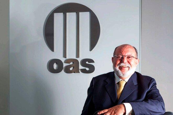 Leo Pinheiro, patron du groupe OAS de 2001 à 2014. © DR